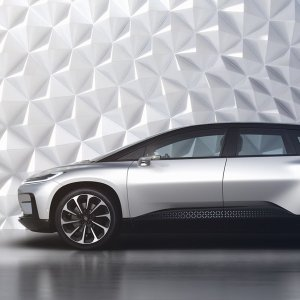 Faraday Future 1050HP Electric Car