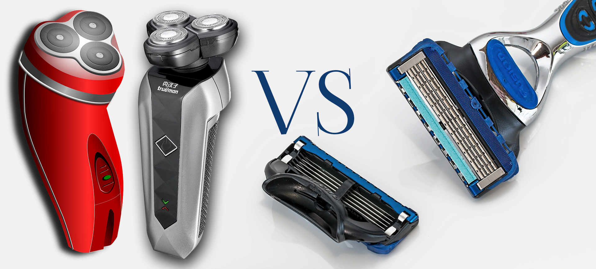 Electric Shaver vs. Manual Razor