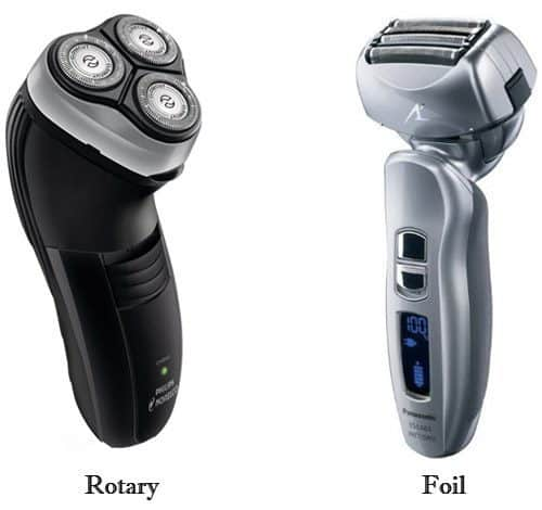 Foil Shaver and Rotary Shaver